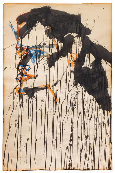 Norman Bluhm, 'To Mouthpiece', 1963