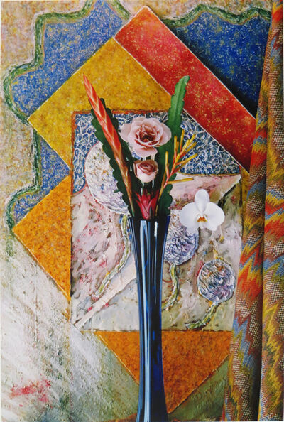 Walter W Nelson, 'Rose Orchid Bromeliad', 1983