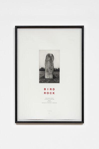 Hamish Fulton, 'Bird Rock', 1987