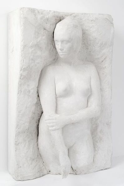 George Segal, 'Standing girl looking right', 1973