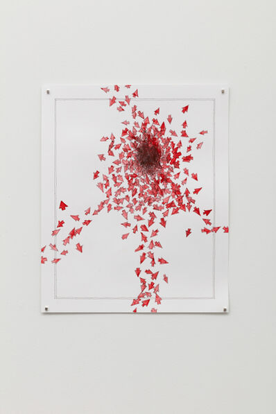 Becca Booker, 'Red Arrows #3', 2020