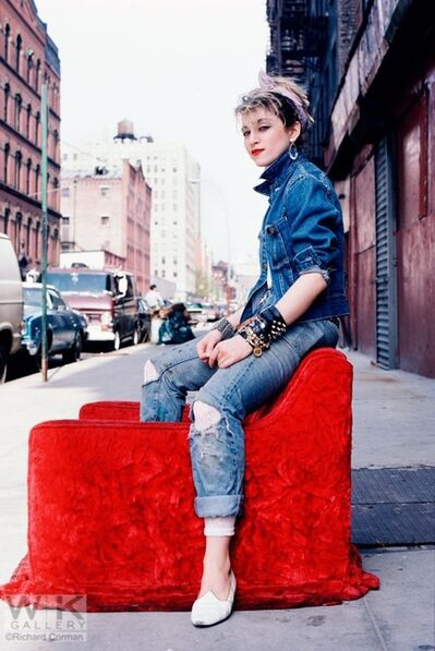 Richard Corman, 'Madonna Red Chair', 1983