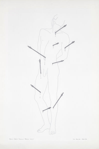 Rune Mields, 'Blood and Arrows (Bellini)', 1985-1997