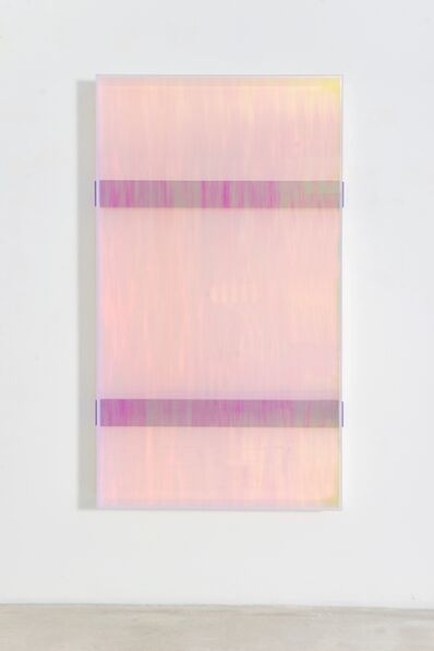 Regine Schumann, 'Colormirror rainbow double bars violet toronto', 2019