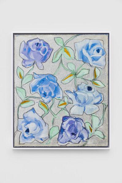 Renate Bertlmann, 'Blaue Rosen [Blue Roses]', 1992