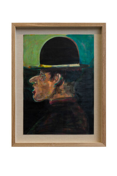 Ryan Mosley, 'Man in a Bowler Hat', 2020