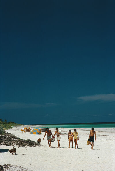 Slim Aarons, 'Harbour Isle Beach', 1973