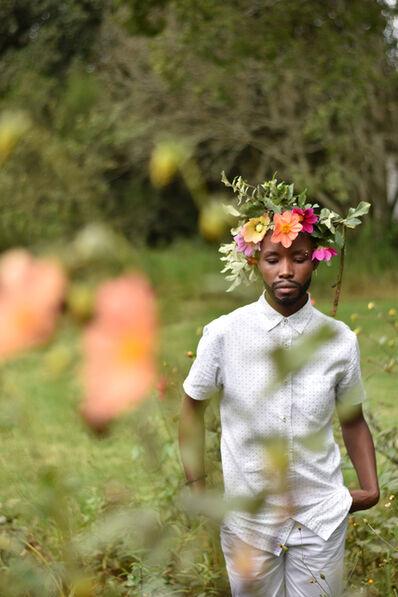 Nomusa Mtshali, 'Intshebe Yami Ubulili Bami (My Beard is My Gender) III', 2019