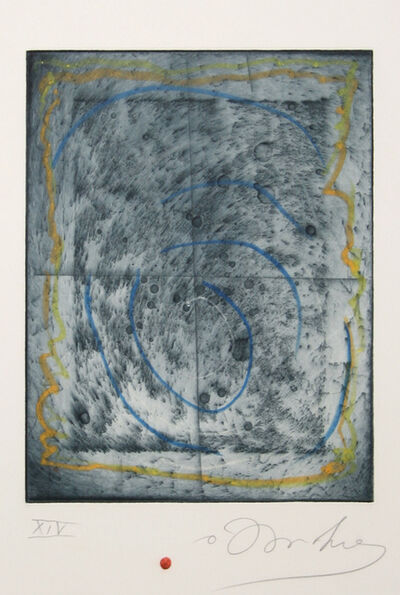 Tighe O'Donoghue, 'Lunar Abstract', ca. 1985
