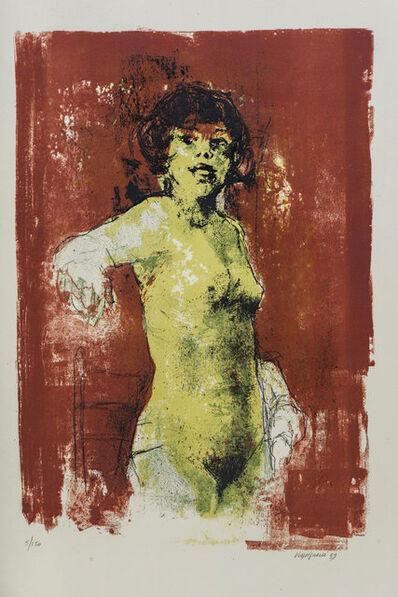 Renzo Vespignani, 'Nudo di donna', 1959