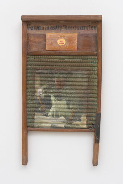 Betye Saar, 'We Was Mostly 'Bout Survival (Ironing)', 1997