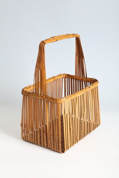 Kosuge Kōgetsu, 'Rectangular Basket (T-4287)', Showa era (1926, 1989), 1970s