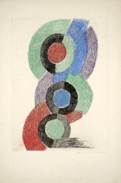 Sonia Delaunay, 'Rythmes colores', 1967