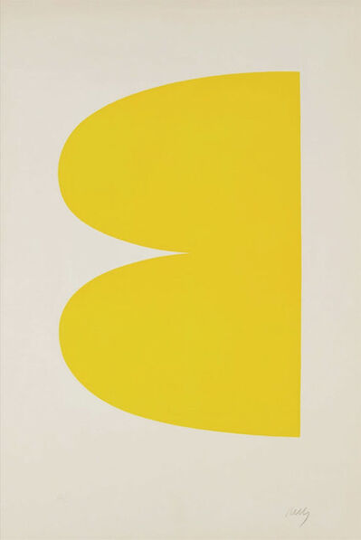 Ellsworth Kelly, 'Yellow (II.2 Yellow; Jaune Série II No.2)', 1964-1965
