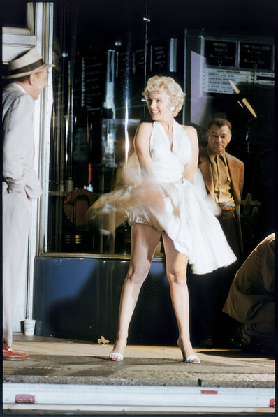 Elliott Erwitt, 'Marilyn Monroe on the Set of 'The Seven Year Itch', New York City, 1954', 1954