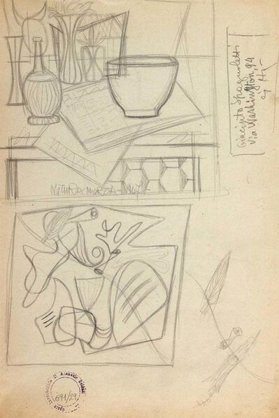 Atanasio Soldati, 'Still Life', 1950's