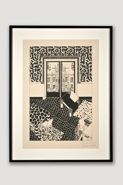 George Sowden, 'Interior 1 (Limited Edition Silkscreen)', 1984