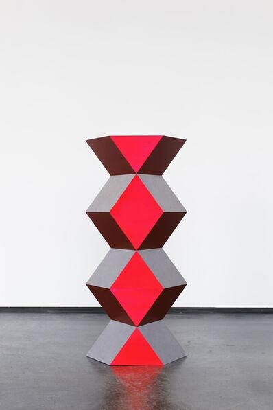 Angela Bulloch, 'Short Cardinal - Never Ending', 2015
