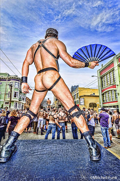 Mitchell Funk, 'Bare Ass. Folsom street fair san francisco', 2016