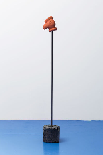 Claudia Martínez Garay, 'cóndor on a stick', 2019
