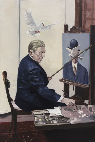 Zhao Yiqian 趙一淺, 'Pigeon', 2017