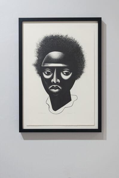 Elizabeth Catlett, 'Black Girl', 2004