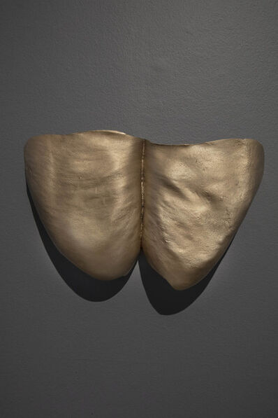 "Julie Rrap, '""Thunder Thighs"" Shield', 2019"