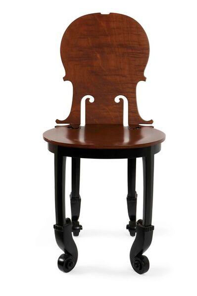 Arman, 'Cello chair', 2004