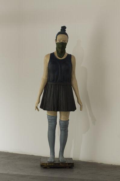 Jean-Robert Drouillard, 'Jeune Camille au foulard', 2014