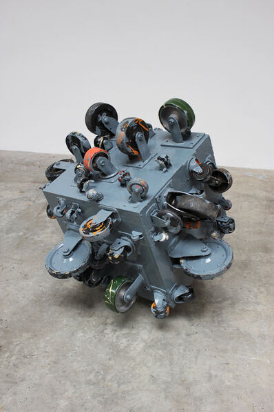 John Beech, 'Rolling Platform (Sea Gray)', 2012