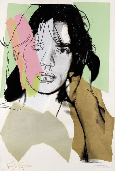 Andy Warhol, 'Mick Jagger (FS II.140)', 1975