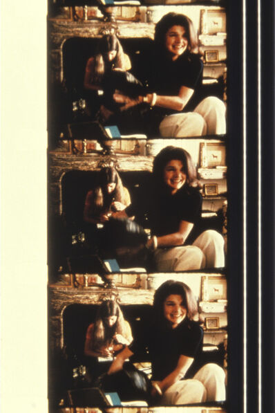 Jonas Mekas, 'Jackie Kennedy-Onassis with Caroline Kennedy and her dog at her New York home, 1970', 2013