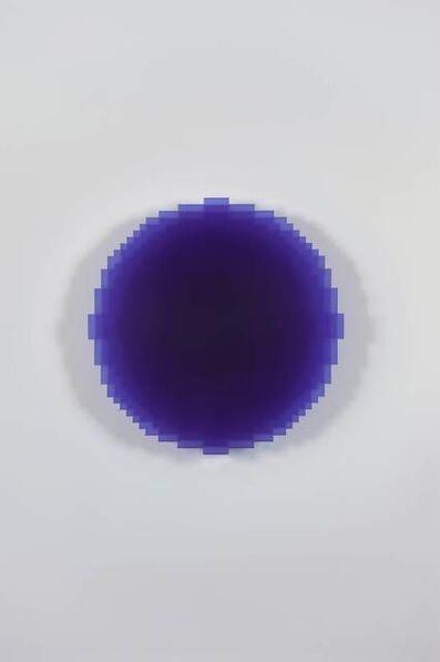 Johannes Girardoni, 'Resonant Blue Violet 1/3', 2017
