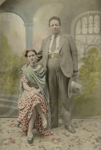 Victor Reyes, 'Wedding portrait of Frida Kahlo and Diego Rivera', 1929