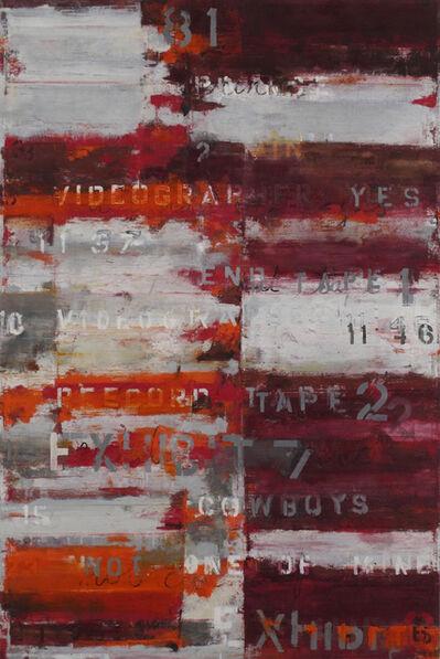 Brian Dupont, 'Transcript 1', 2015