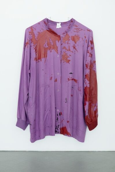 Amanda Ross-Ho, 'Untitled Smock (ACCIDENT)', 2013