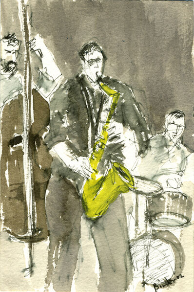 Gordon Binder, 'Jazz II (Smalls NYC)', 2002