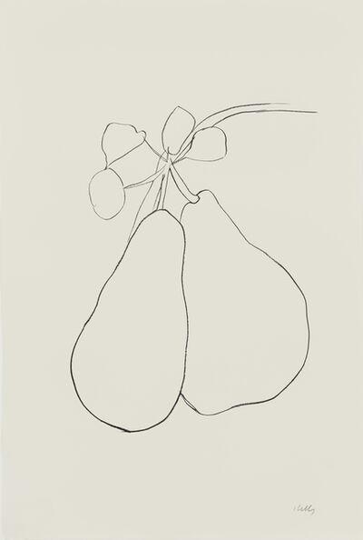 Ellsworth Kelly, 'Pear II'
