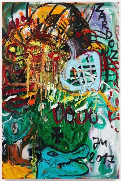 """Jonathan Meese, '""""KROKODILL'S BLUBBGRILL...""""', 2017"""