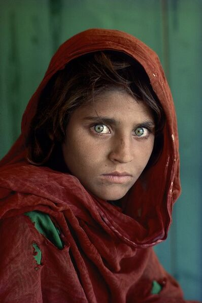 Steve McCurry, 'Afghan Girl (Sharbat Gula), 1984', 2019