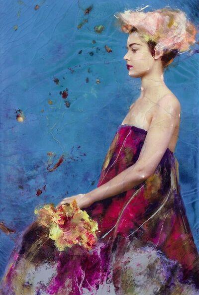 Lita Cabellut, 'Fairy Flower 01', 2016