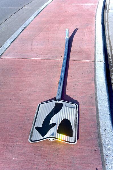 Dallas Parkins, Jr, 'Sign Down (Denver) #9', 2014