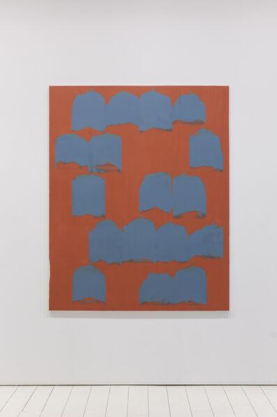 Bernard Frize, 'Maroon Bells', 2011