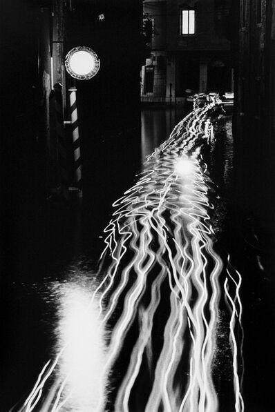 Ikkō Narahara, 'Lines of Luminance, Venice, Italy', 1982-vintage print