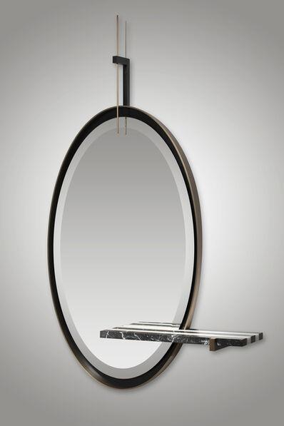Isabelle Stanislas, ''Ellipse' Mirror by Isabelle Stanislas', 2019