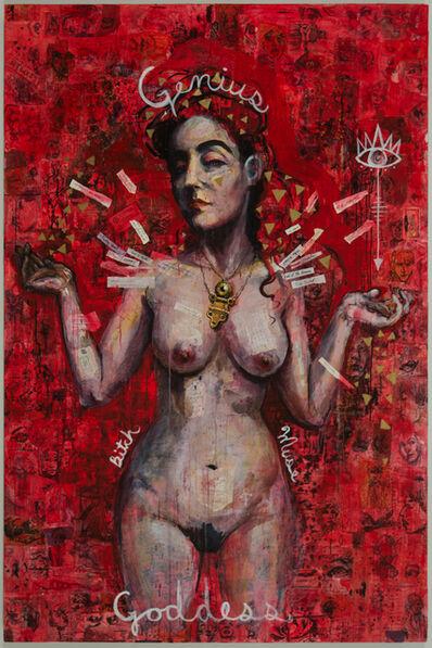 Molly Crabapple, 'Kim Boekbinder', 2016