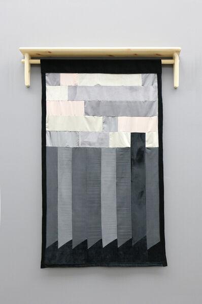 Lars Laumann, 'Svart siluett av fabrikk mot himmel (etter Marit Sørumsgård', 2017