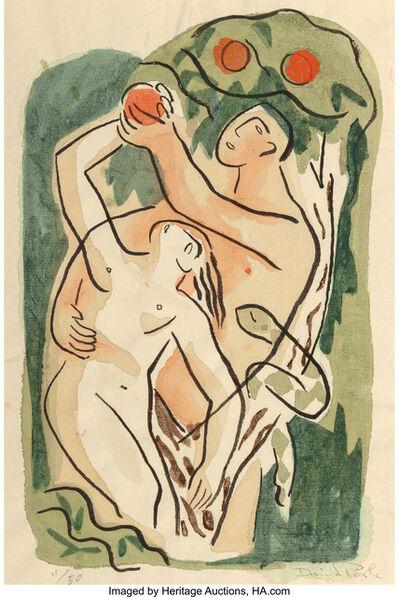 David Park, 'Genesis', 1935