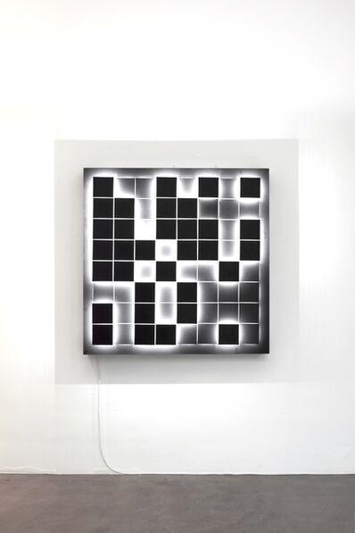 LAb[au], 'Minimosaique (8x8 BW)', 2018