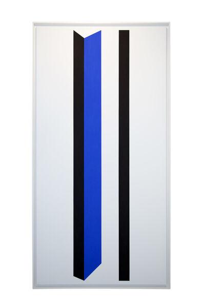 Geneviève Claisse, 'Rythme normé (bleu)', 2013
